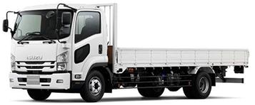 トラックの形状別 平ボディーのトラック